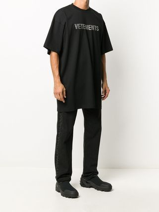 VETEMENTS More T-Shirts Unisex Street Style Plain Cotton Short Sleeves Logo T-Shirts 3