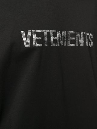 VETEMENTS More T-Shirts Unisex Street Style Plain Cotton Short Sleeves Logo T-Shirts 5