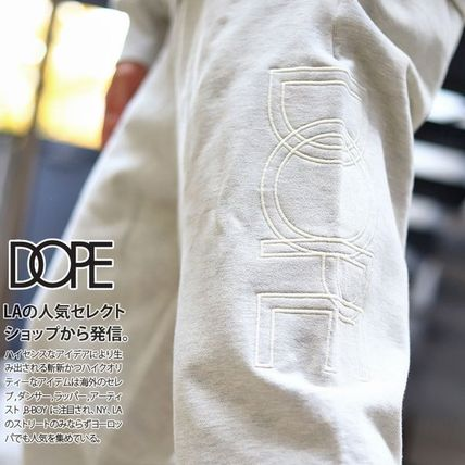 Tapered Pants Printed Pants Unisex Street Style Plain Cotton