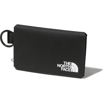 THE NORTH FACE Unisex Street Style Plain Logo Wallets & Card Holders