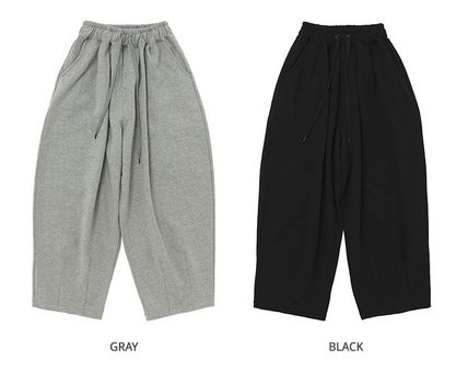 A NOTHING Unisex Street Style Pants