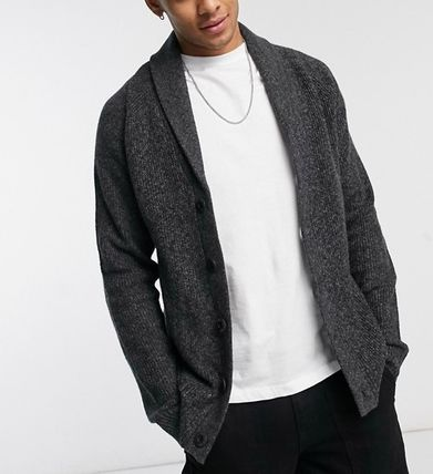 Hollister Co. Cardigans Street Style Plain Front Button Cardigans 2