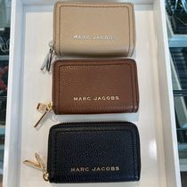 MARC JACOBS Unisex Leather Logo Coin Cases