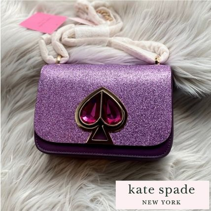 kate spade new york NICOLA Casual Style 2WAY Plain Leather Party Style Office Style