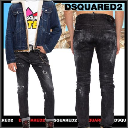 D SQUARED2 More Jeans Unisex Street Style Jeans