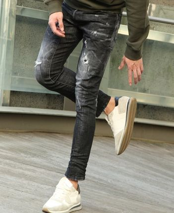D SQUARED2 More Jeans Unisex Street Style Jeans 2