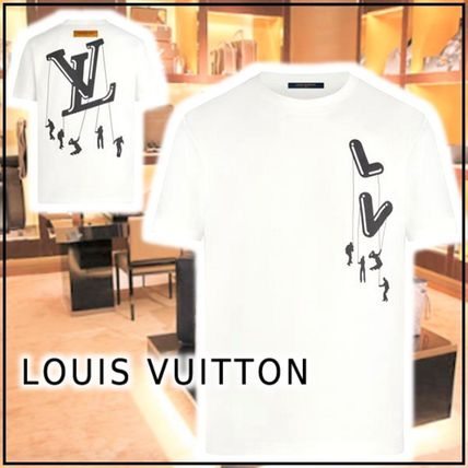 Louis Vuitton More T-Shirts Short Sleeves Logo Luxury T-Shirts 6