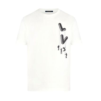 Louis Vuitton More T-Shirts Short Sleeves Logo Luxury T-Shirts 3