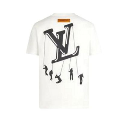 Louis Vuitton More T-Shirts Short Sleeves Logo Luxury T-Shirts 4