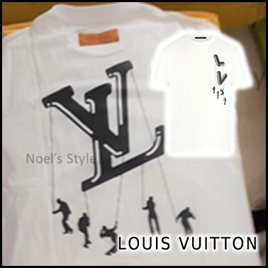 Louis Vuitton More T-Shirts Short Sleeves Logo Luxury T-Shirts