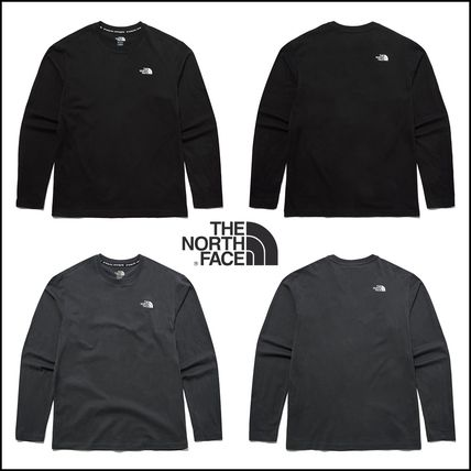 THE NORTH FACE Long Sleeve Unisex Long Sleeves Long Sleeve T-shirt Logo Outdoor