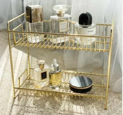 Make-up Organizer Gold Furniture Kitchen & Dining Room