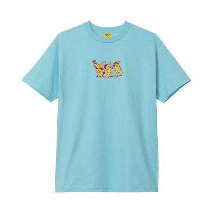 GOLF WANG More T-Shirts Unisex Street Style Cotton Short Sleeves T-Shirts 2