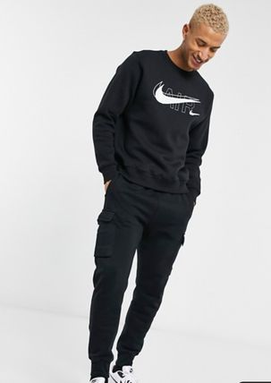 Nike Sweatshirts Crew Neck Street Style Long Sleeves Logo Sweatshirts 5