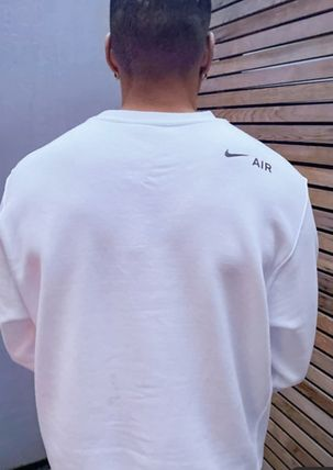 Nike Sweatshirts Crew Neck Street Style Long Sleeves Logo Sweatshirts 7