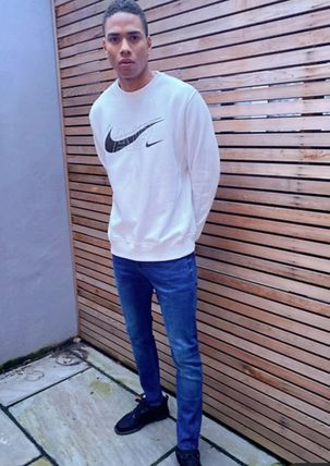 Nike Sweatshirts Crew Neck Street Style Long Sleeves Logo Sweatshirts 9