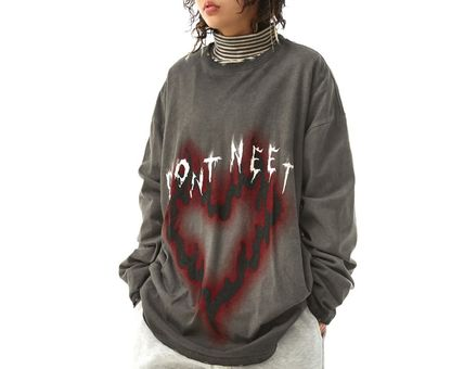 OPEN THE DOOR More T-Shirts Unisex Street Style Oversized T-Shirts 16