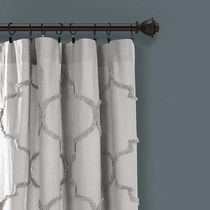 Geometric Patterns Ethnic Morroccan Style Curtains