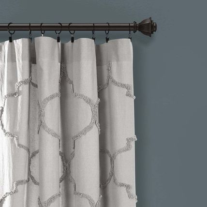 Ethnic Morroccan Style Geometric Patterns Curtains