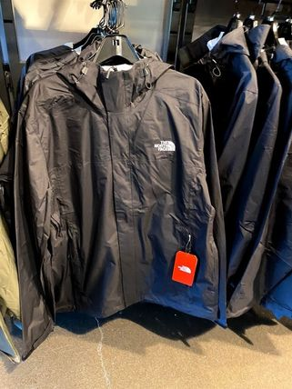 THE NORTH FACE Logo Nylon Plain Windbreaker Jackets