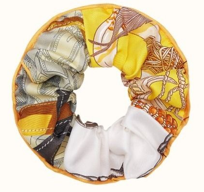 HERMES Scrunchy Casual Style Office Style Elegant Style