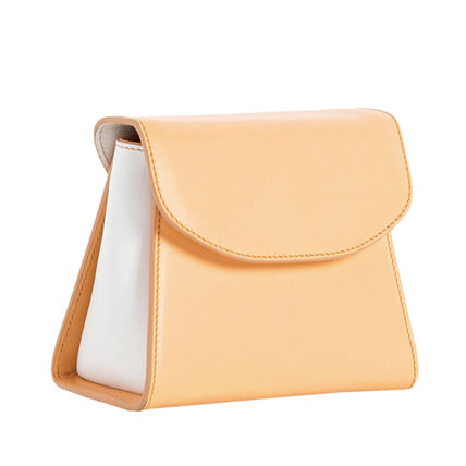 Casual Style Calfskin Plain Leather Handmade Party Style