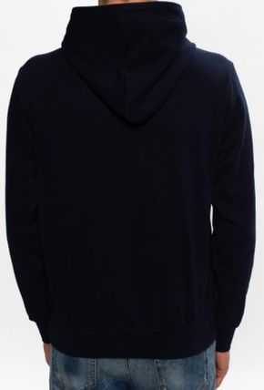 DIESEL Hoodies Blended Fabrics Street Style Long Sleeves Plain Cotton Logo 6