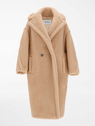 MaxMara TEDDY BEAR Albino Camel Teddy Coat