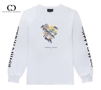 Street Style Long Sleeves Long Sleeve T-shirt