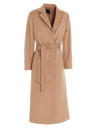 Casual Style Cashmere Plain Long Party Style Office Style