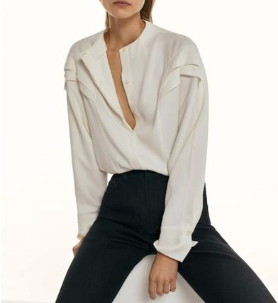 Casual Style Long Sleeves Elegant Style Formal Style
