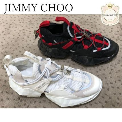 Jimmy Choo Casual Style Low-Top Sneakers