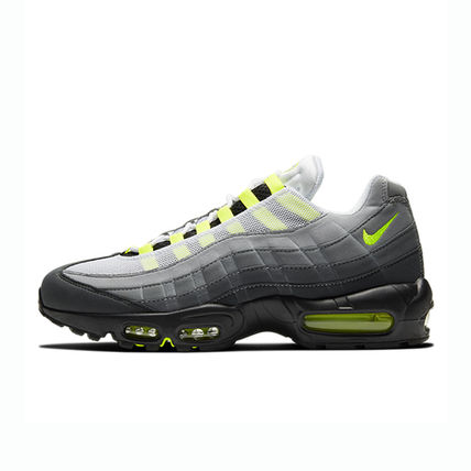 Nike AIR MAX 95 Unisex Faux Fur Blended Fabrics Street Style Plain Leather