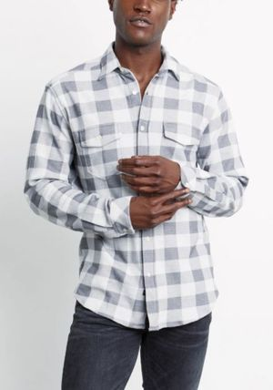 Ron Herman Shirts Other Plaid Patterns Blended Fabrics Long Sleeves Cotton 2