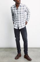 Ron Herman Shirts Other Plaid Patterns Blended Fabrics Long Sleeves Cotton 4