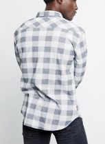 Ron Herman Shirts Other Plaid Patterns Blended Fabrics Long Sleeves Cotton 5