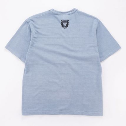 HUMAN MADE Pullovers Unisex Street Style U-Neck Plain Cotton