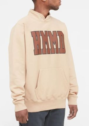 HUMAN MADE Pullovers Unisex Street Style Long Sleeves Cotton Oversized