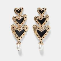 Kina and Tam Casual Style Elegant Style Earrings