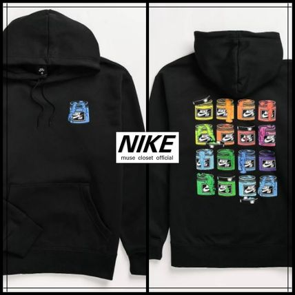 Nike Hoodies Unisex Plain Logo Hoodies