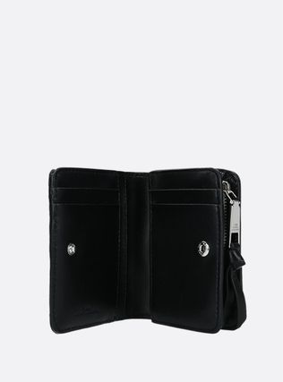 Unisex Leather Small Wallet Logo Accessories