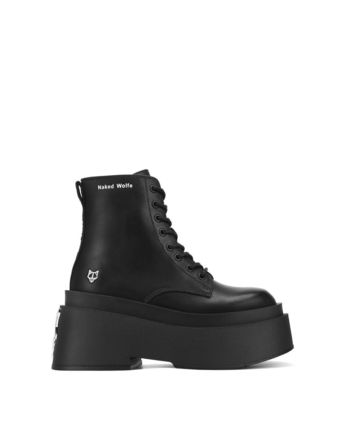 Casual Style Street Style Leather Logo Boots Boots