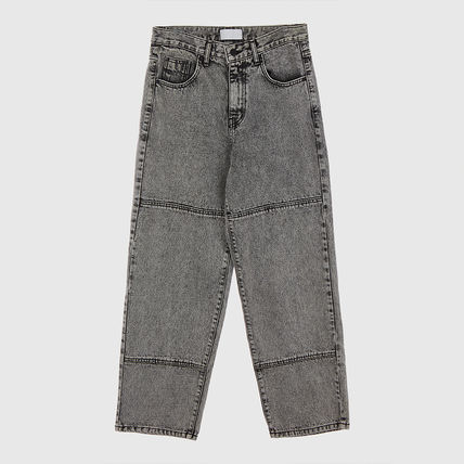 Raucohouse Slax Pants Unisex Denim Cotton Jeans