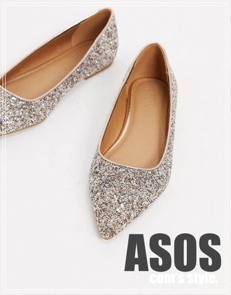 Casual Style Party Style Flats