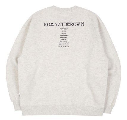 ROMANTIC CROWN Sweatshirts Unisex Long Sleeves Sweatshirts 13