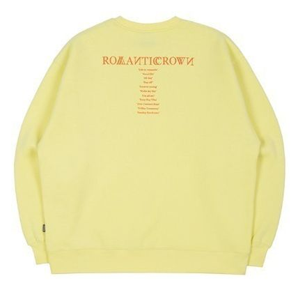 ROMANTIC CROWN Sweatshirts Unisex Long Sleeves Sweatshirts 15