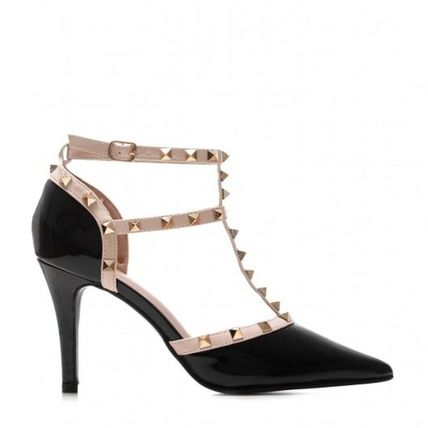 Open Toe Round Toe Casual Style Pin Heels Party Style