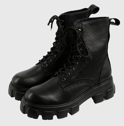 Raucohouse Unisex Street Style Boots