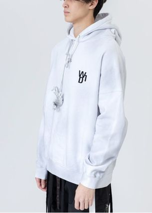 We11Done Hoodies Pullovers Sweat Street Style Long Sleeves Cotton Logo 4