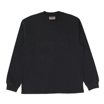 FEAR OF GOD ESSENTIALS Unisex Street Style Long Sleeves Long Sleeve T-shirt